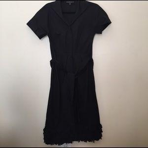 Lafayette 148 New York Dresses & Skirts - Ruffle Trimmed Shirt Dress