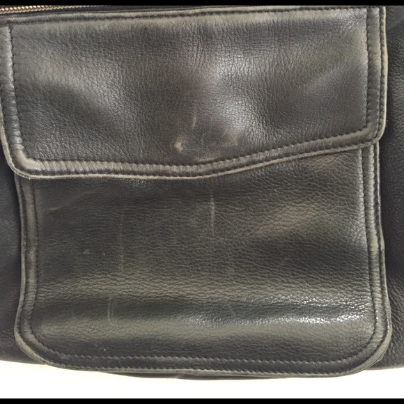 Fossil Bags - well loved black fossil purse