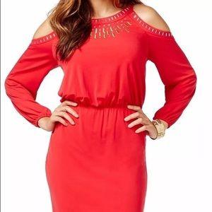 Thalia Sodi Dresses & Skirts - BEAUTIFUL THALIA SODI RED DRESS