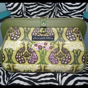 Petunia Pickle Bottom Handbags - Petunia Pickle Bottom Crosstown Clutch