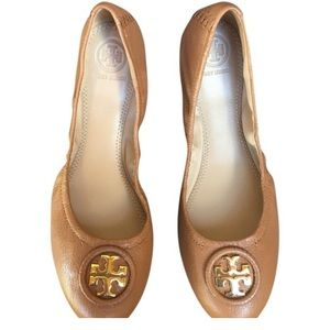 Tory Burch Shoes - Tory Burch Leather Ballet Flats