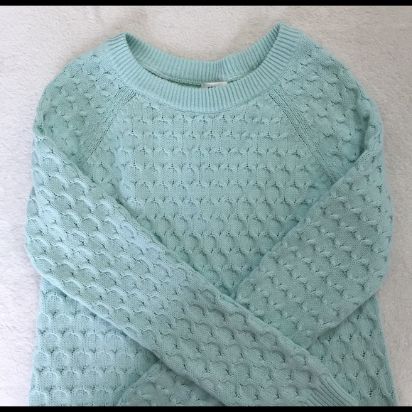 Old Navy Sweaters - beautiful mint sweater old navy sweater sizr M
