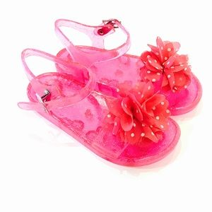 Other - Hot Pink Jelly Sandals