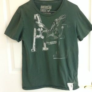 American Eagle Outfitters Other - American Eagle Green T-shirt