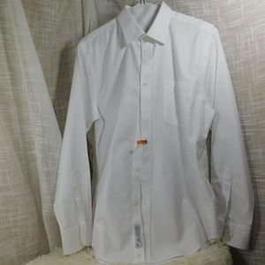 Nordstrom Other - Nordstrom Men's Shop Solid White Dress Shirt