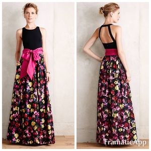 Anthropologie French Fields Gown