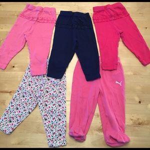 Gerber Other - Big bundle of 3-9 month baby girl pants!