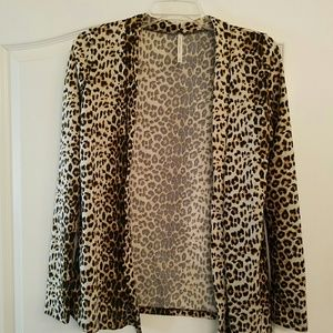 DNA Couture  Sweaters - Leopard print cardigan