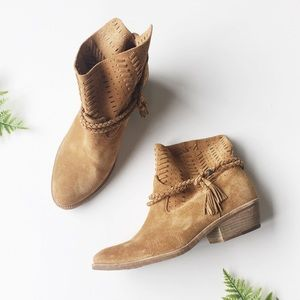 Dolce Vita Shoes - Dolce Vita Suede Woven Boots