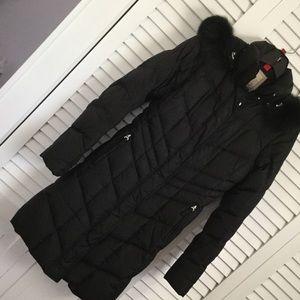 Bogner Jackets & Blazers - Bogner Fire and Ice Black Long Puffer Coat 4 XS!