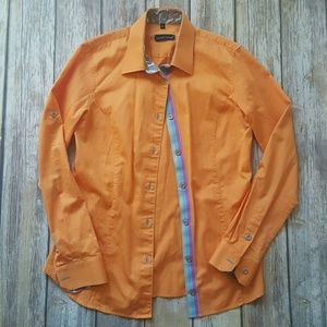 Jared Lang Other - Jared Lang orange button up shirt