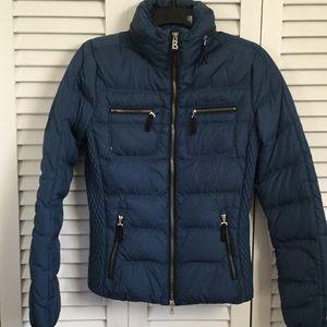 Bogner Jackets & Blazers - Bogner Fire and Ice Blue Short Puffer Jacket 4 XS!