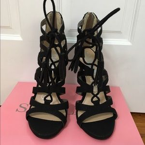 Sam & Libby Shoes - Sam & Libby lace up heels