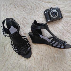 Johnston & Murphy Shoes - Johnston and Murphy factory gladiator wedge sandal