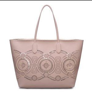 Urban Expressions Handbags - VEGAN DESIGNER FASHION Urban Expressions Tan Tote