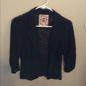Decree black blazer