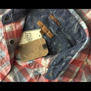 Jachs Tops - Jachs Girlfriend   Bea Plaid Flannel Shirt Western