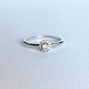 Boutique Jewelry - $20 Dainty Cubic Zirconia & Sterling Silver Ring