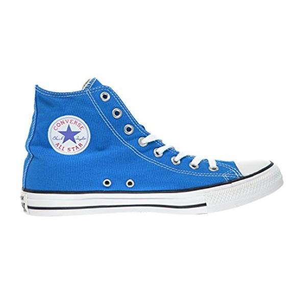 b4a4505cc39fe0 🆕Converse All Stars Hi Top Boots (Cyan Space Blue