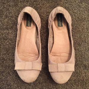 Adam Tucker Shoes - Adam Tucker Prescott Leather Flats