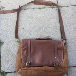 Genuine Vintage leather business bag