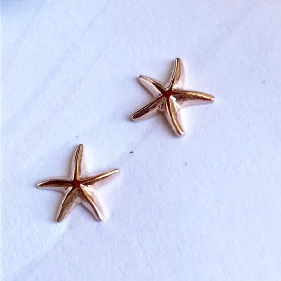 Jewelry Hawaiian Rose Gold Starfish Earrings Poshmark