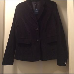 Lands' End Jackets & Blazers - Lands End NWT Velvet Blazer