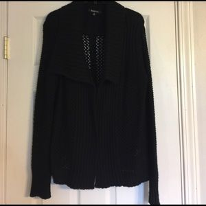 Relativity Sweaters - Black Cardigan Sweater