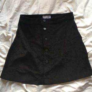 NWT American Apparel Corduroy A-Line Skirt