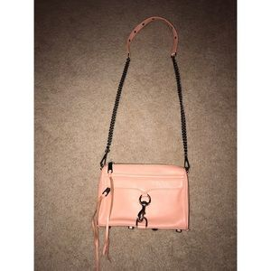 Rebecca Minkoff Handbags - NEVER WORN - Rebecca Minkoff Mini MAC in peach!
