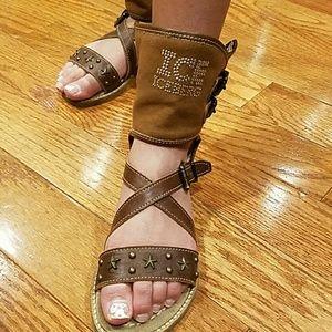 Ice Iceberg Other - Iceberg Girls Gladiators shoes sandals sz 31 US 12