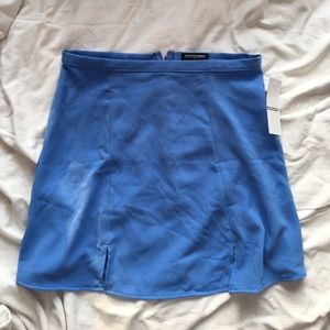 NWT American Apparel Blue Crepe Canyon Skirt