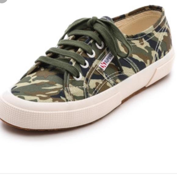 Superga Shoes | Army | Poshmark