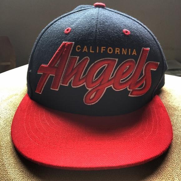 8829e06dec5616 47 Accessories | Adjustable California Angels Hat | Poshmark