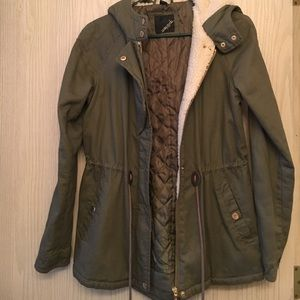 Collection B Jackets & Blazers - Green Lightweight Jacket