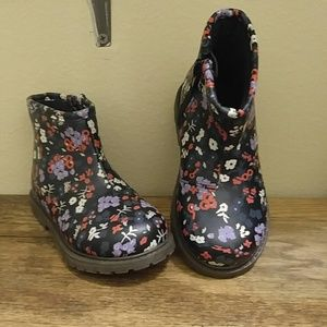 Osh Kosh Other - Toddler Girl Floral Boots