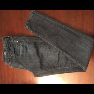AG - Adriano Goldschmed - super skinny ankle jean.