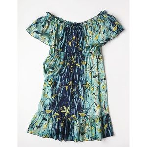 Anna Sui Dresses & Skirts - Anna Sui Crepe Silk Printed Dress