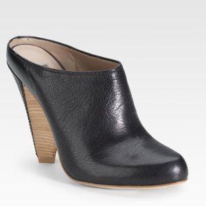 Belle by Sigerson Morrison Shoes - Belle By Sigerson Morrison Black Mule Clogs