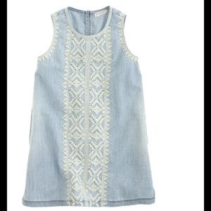 J. Crew Other - Crewcuts 3 embroidered chambray dress sundress