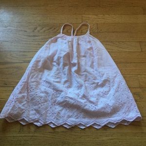 GAP Other - BabyGap 3Years pink 100% cotton sundress eyelet