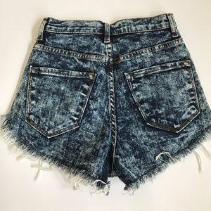 Nasty Gal Shorts - Nasty Gal Denim Shorts
