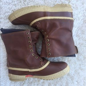 Sorel Other - Sorel Duck Boots Leather Waterproof Size 13.5