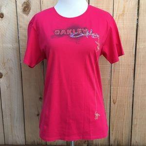 Oakley Tops - 🆕🎁 Oakley Hot Pink T-shirt