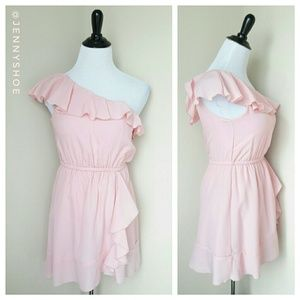 Candie's Dresses & Skirts - {candies's} one shoulder ruffle dress