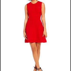 Armani Exchange Dresses & Skirts - Armani A/X Textured Knit Fit and Flare Dress