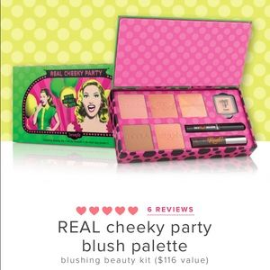 Benefit Other - Benefit Cosmetics Real Cheeky Blush Palette