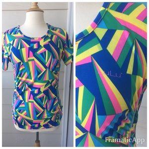 Lulu Tops - Lulu Activewear Women's Ruched Blouse Multicolor