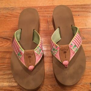 60bb036384ce Eliza B Shoes - Eliza B wedge flip flops