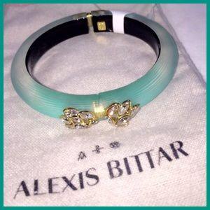 Alexis Bittar Jewelry - NWT Alexis Bittar Jardin Teal Bangle Bracelet